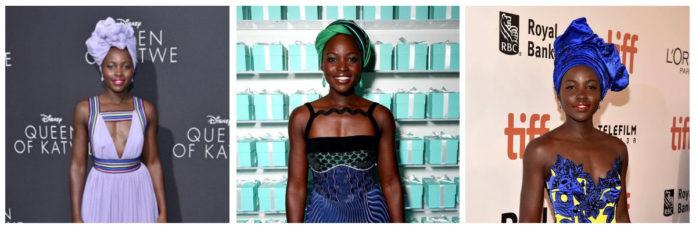 Lupita Nyong'o And The Head Wraps