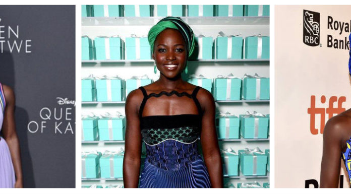 Lupita Nyong'o And The Head Wraps
