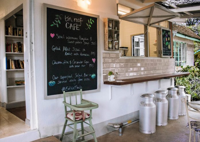 A Sweet Escape: Tin Roof Cafe At The Souk