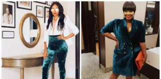 Kenyan Celebrities Slaying The Velvet Trend (Photos)