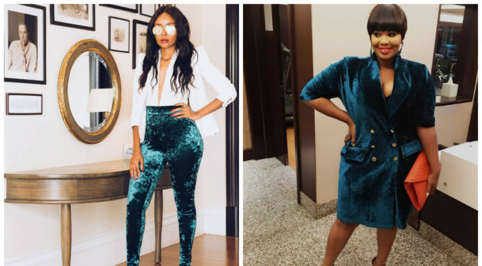 Kenyan Celebrities Slaying The Velvet Trend (Photos)