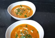 Chilli & Celery Butternut Soup