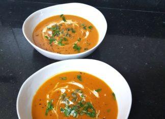 Chilli & Celery Butternut Soup