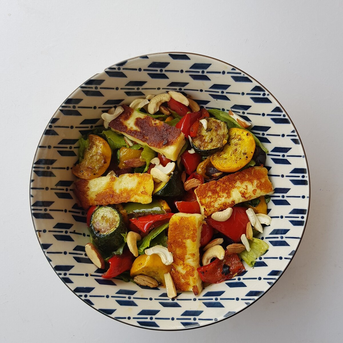 #RestaurantInspired: Grilled Halloumi Salad